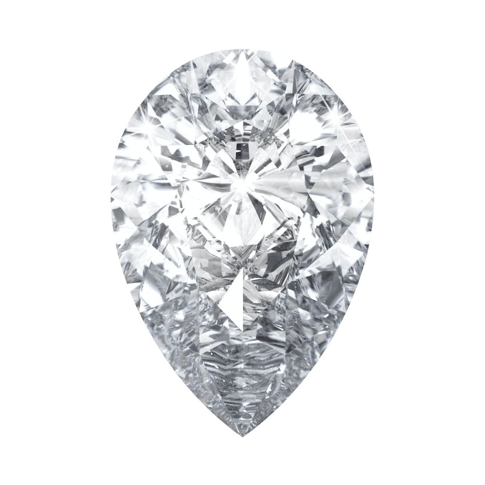 0.49 ct Pear Lab Grown Diamond