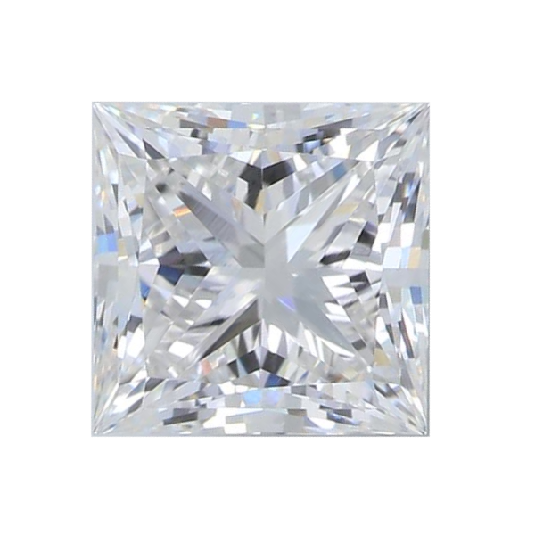 1.60 ct Princess Lab Grown Diamond
