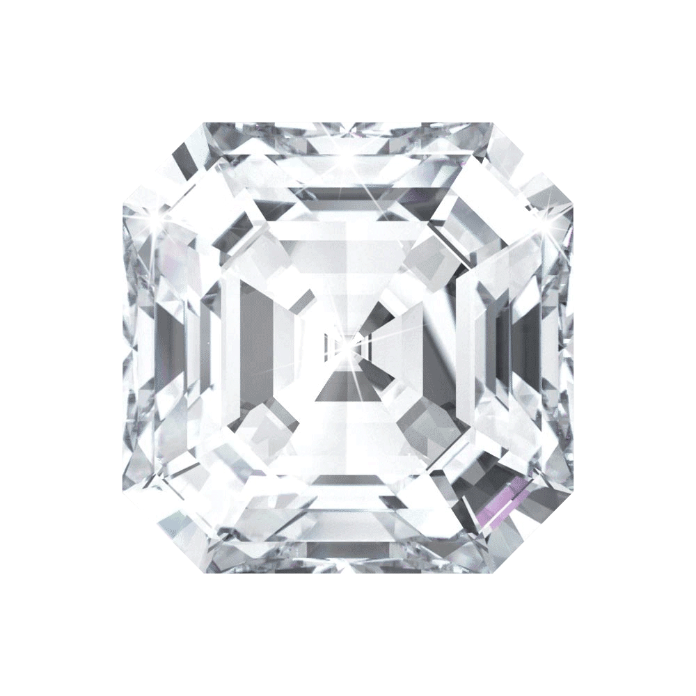 2.01 ct Asscher Lab Grown Diamond