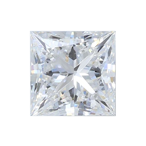 0.83 ct Princess Lab Grown Diamond