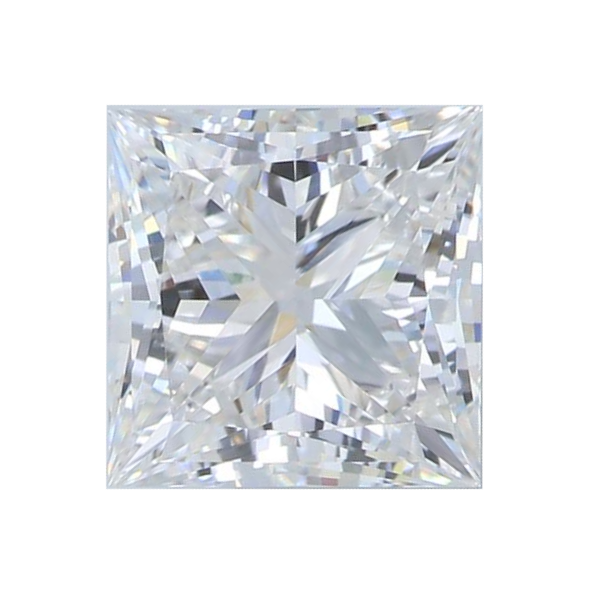 1.65 ct Princess Lab Grown Diamond