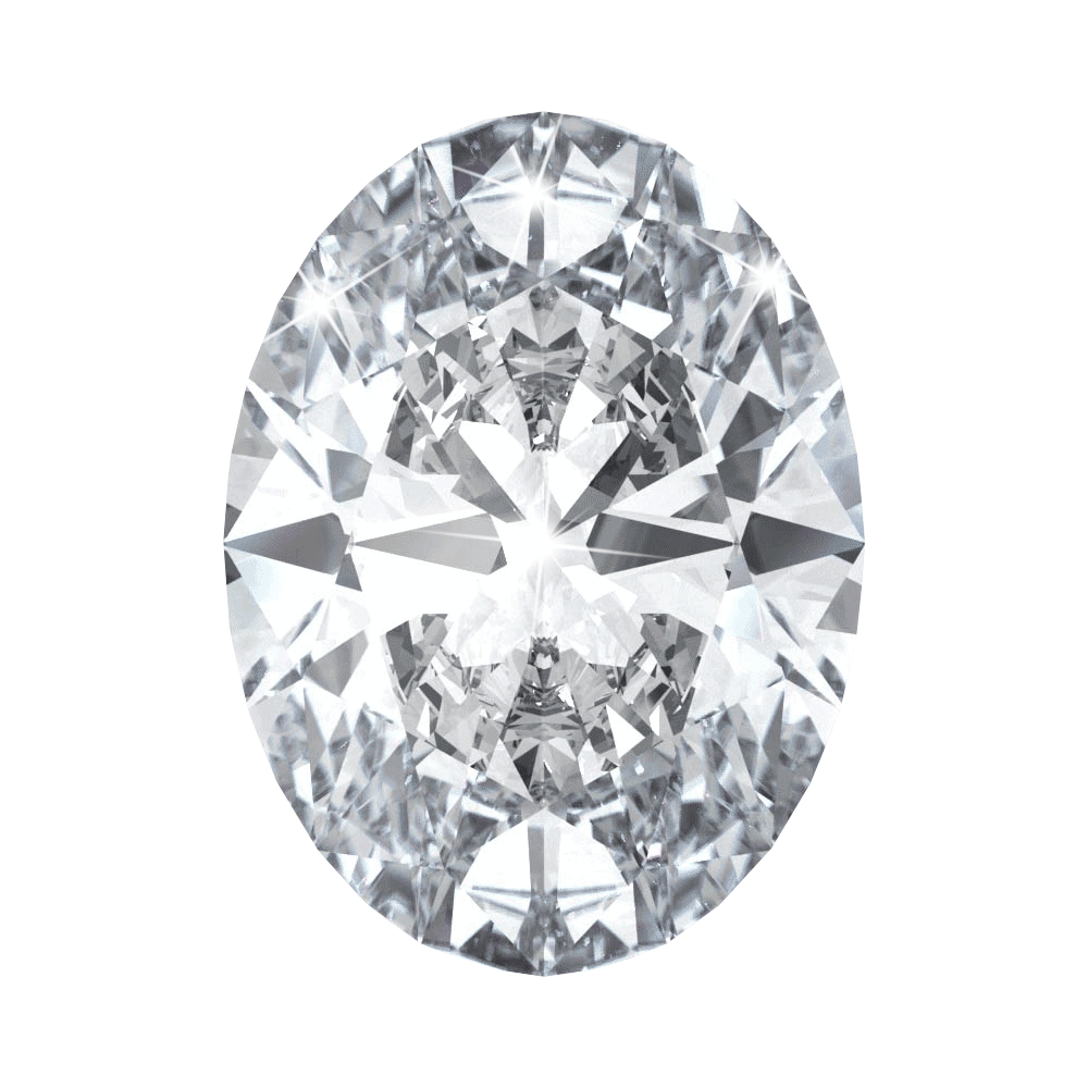 0.68 ct Oval Lab Grown Diamond