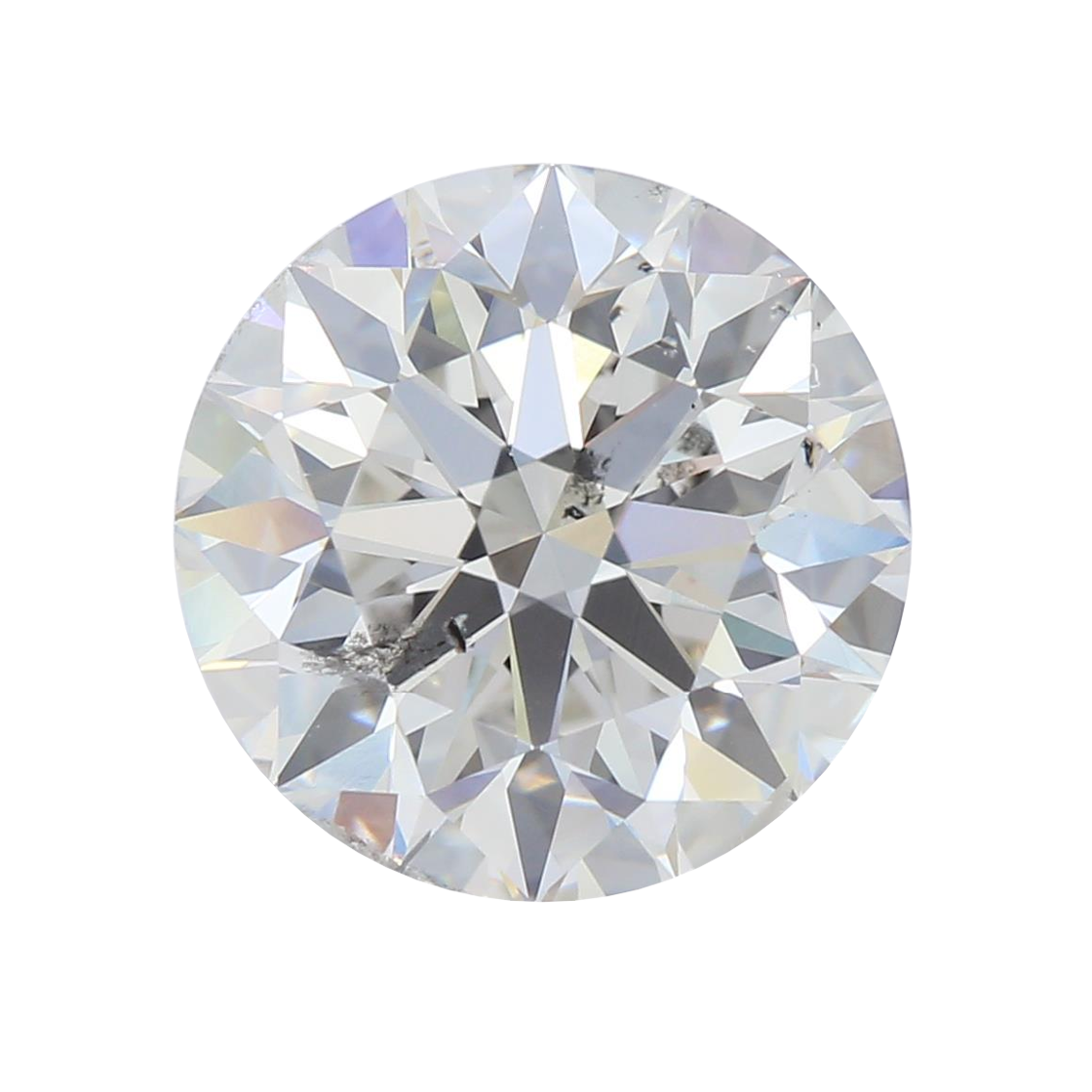 2.43 ct Round Lab Grown Diamond