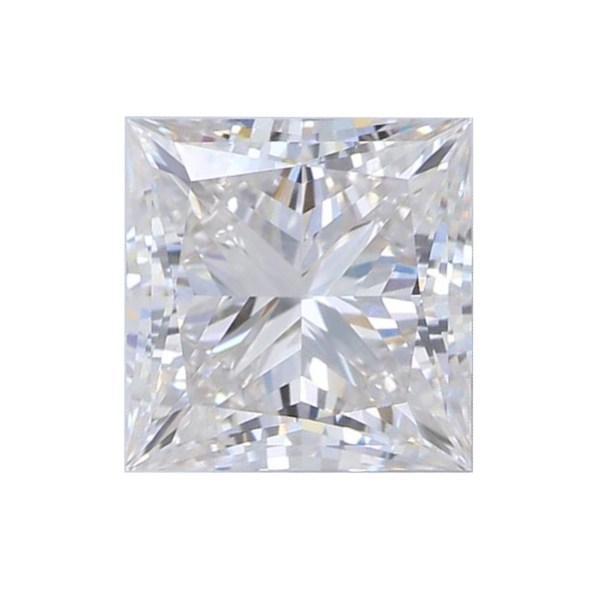 1.59 ct Princess Lab Grown Diamond