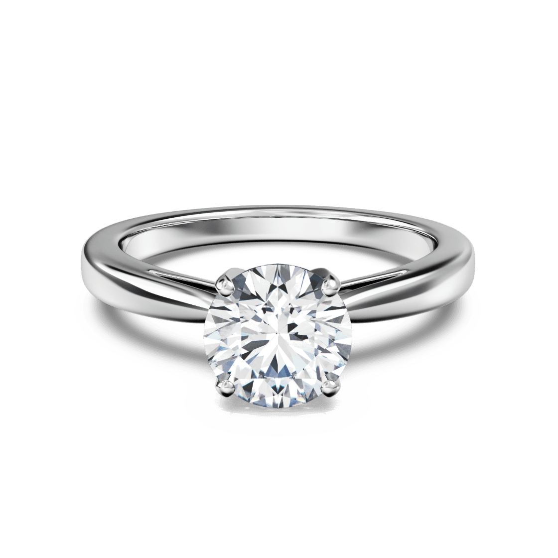 Bold Tapered Solitaire