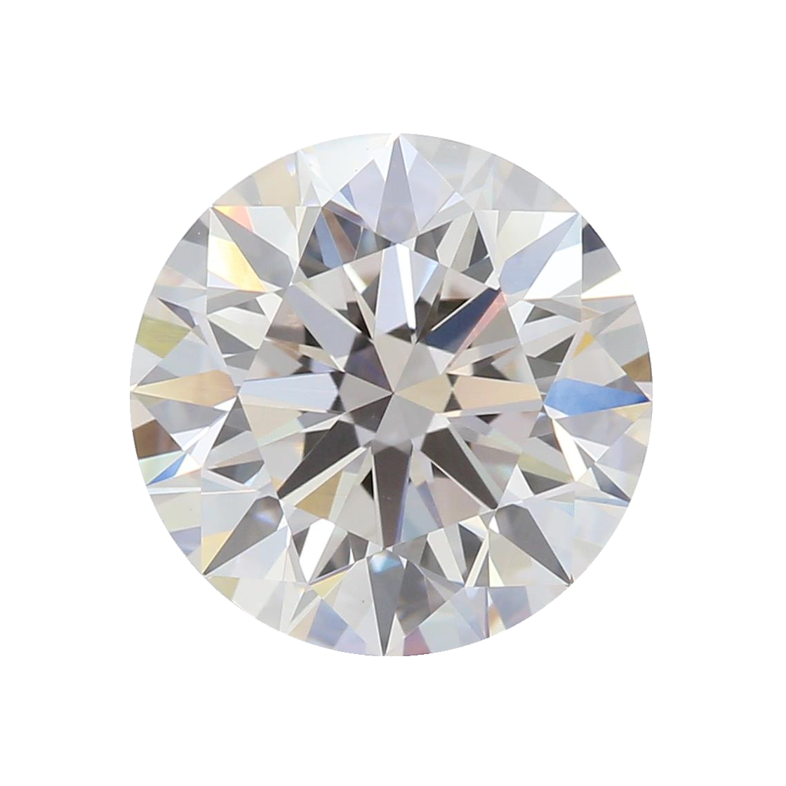 2.10 ct Round Lab Grown Diamond
