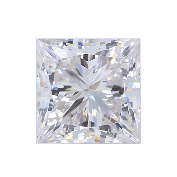 1.54 ct Princess Lab Grown Diamond