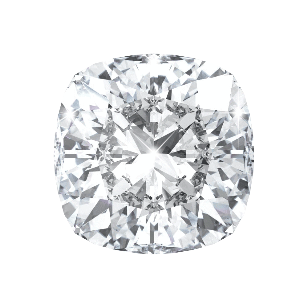 3.13 ct Cushion Lab Grown Diamond