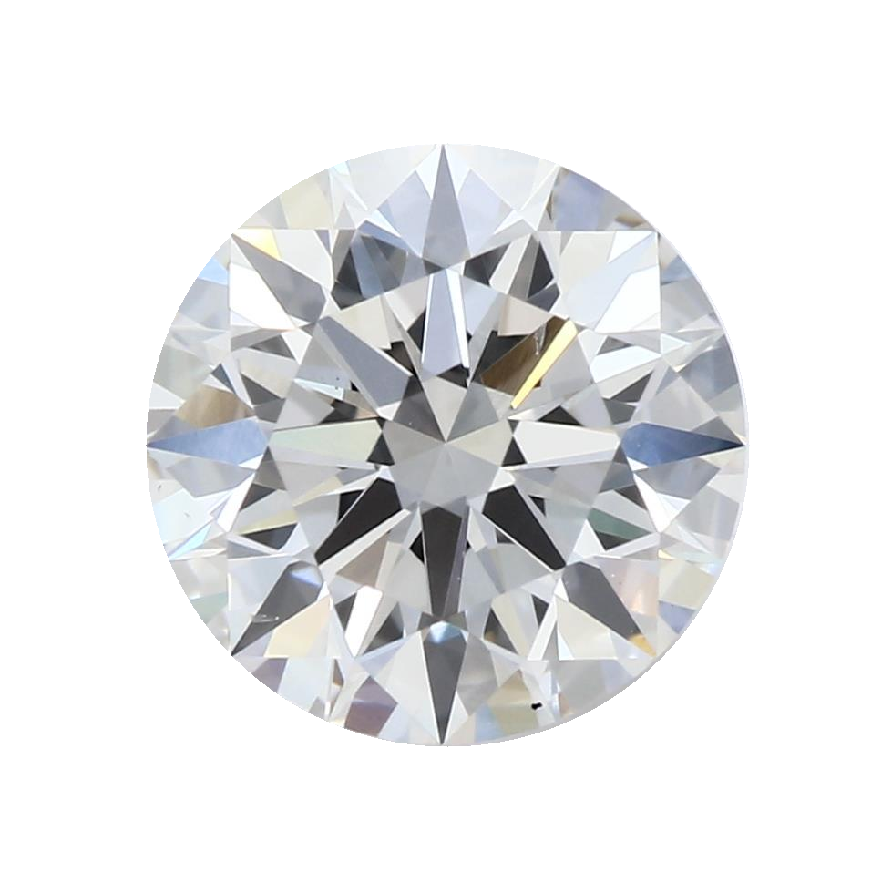 1.37 ct Round Lab Grown Diamond