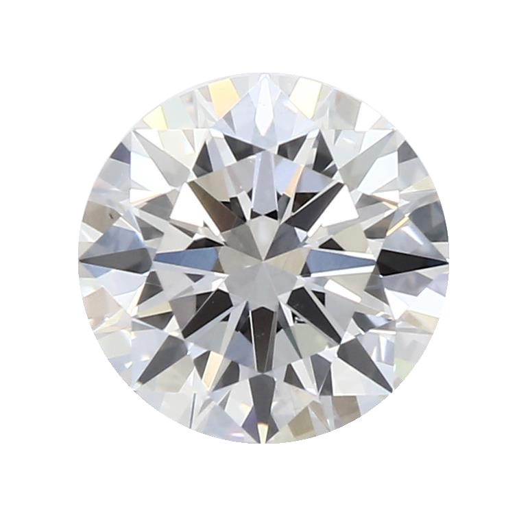 0.74 ct Round Lab Grown Diamond